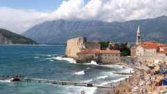Самые популярные пляжи черногории