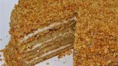 Самый простой рецепт медового торта