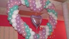 Сердце из шаров: как его сделать?