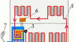 Схема однотрубной системы отопления с нижней разводкой. Однотрубная система отопления частного дома