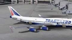 """Схема самолета """"боинг-747-400"""" """"трансаэро"""". Лучшие места"""