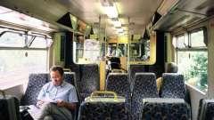 Схема сидячего вагона ржд. Как расположены места в сидячем вагоне