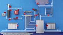 Схемы подключения радиаторов отопления. Способы подключения радиаторов отопления