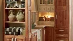 Шкаф-пенал для кухни: красиво, эргономично, удобно
