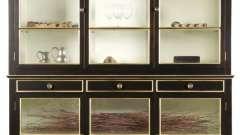 Шкафы-витрины для гостиной: виды, модели, производители