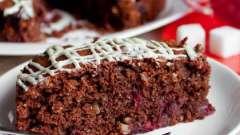 Шоколадный пирог с вишнями: несколько рецептов десерта