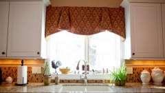 Шторы для кухни: выбираем ткань, дизайн, цвет
