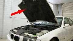 Шумоизоляция капота дизельного автомобиля