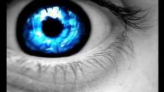 Синие глаза - следствие мутации