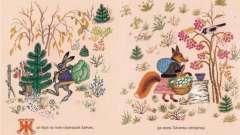 """Сказка """"заяц и лиса"""" - произведение для самых маленьких"""