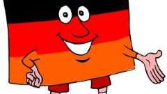 Склонение прилагательных в немецком языке