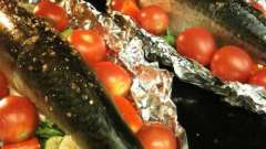 Скумбрия запеченная в фольге в духовке. Рецепты приготовления