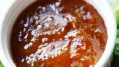 Сливовый соус ткемали на зиму: рецепт