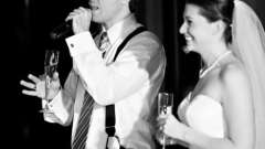 Слова благодарности гостям на свадьбе. Что и как говорить