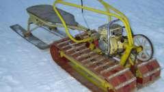 Снегоход из мотоблока своими руками. Как сделать самодельный снегоход из мотоблока?