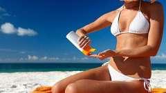 Солнцезащитные средства: красивый загар без вреда для здоровья