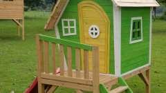 Сооружаем домик для детей своими руками при помощи сборно-каркасной конструкции