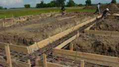 Состав бетона для фундамента: пропорции на 1м3. Бетон для фундамента: состав