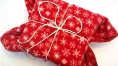 Советы, как упаковать подарок в подарочную бумагу