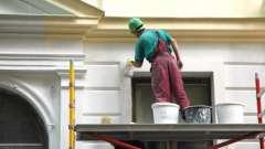 Советы по ремонту: краска фасадная