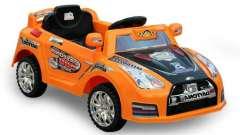 Современные детские автомобили на аккумуляторах