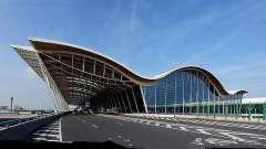 Современный шанхай: аэропорт пудун