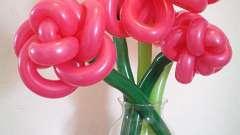 Создаем праздник. Как из шаров сделать цветок