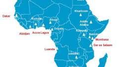 Список стран африки и их особенности