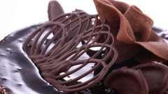 Способы украшения тортов шоколадом