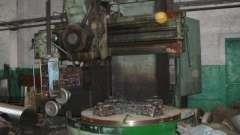 Станки карусельные токарные. Станок с чпу для обработки металла: характеристики