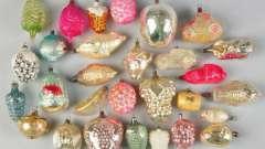 Стеклянные елочные игрушки: производство россии