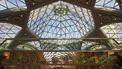 Стеклянные потолки – оптимальное сочетание света и простора