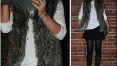 Стильная вещь - меховая жилетка. С чем носить ее, чтобы выглядеть отлично?