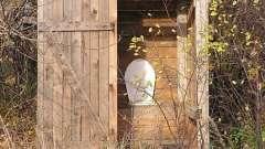 Строим туалет для дачи деревянный