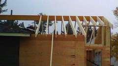 Стропила для крыши: формы, виды, материалы
