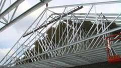 Стропильная система для производственных зданий и частных домов