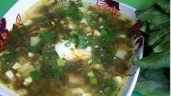 Суп щавельный: рецепт за рецептом