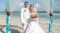 Свадьба в морском стиле - ново и креативно