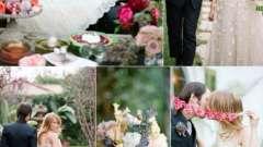 Свадьба в стиле алиса в стране чудес - путешествие в сказку