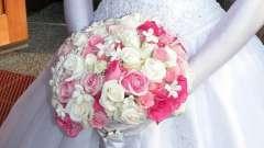 Свадебный букет невесты из роз для свадьбы в зимний период