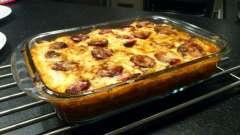 Сытные и вкусные мясные «ежики» с картошкой под сыром