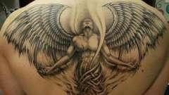 """Тату """"архангел"""": особенности, значение, фото"""
