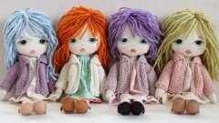 Текстильная кукла: мастер-класс по изготовлению своими руками, выкройки и фото
