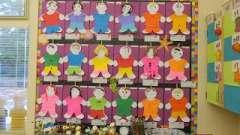 Текстильное оформление приемной в детском саду