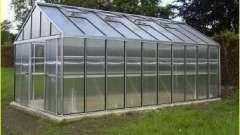 """Теплица """"ботаник"""" из поликарбоната или стекла"""