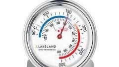 Термометры для духовок - описание и характеристики