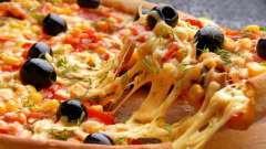 Тесто на воде на пиццу - быстро, легко и вкусно