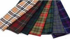 Ткань шотландка (тартан): особенности