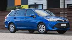 «Тойота королла» (универсал): описание, технические характеристики, цены