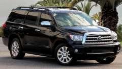 """""""Тойота секвойя"""": технические характеристики. """"Тойота секвойя"""": комплектации, цены"""